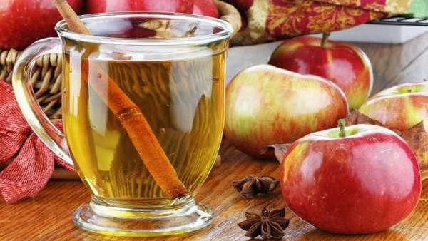 Вода с яблоком и корицей для похудения
