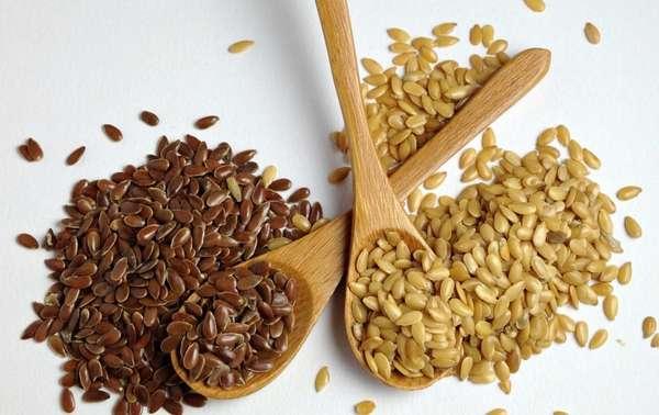 Семена белого льна для похудения