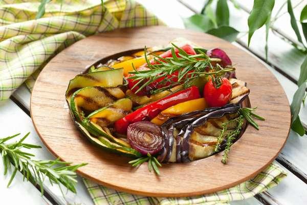 Меню: суп и овощи. Фото овощей