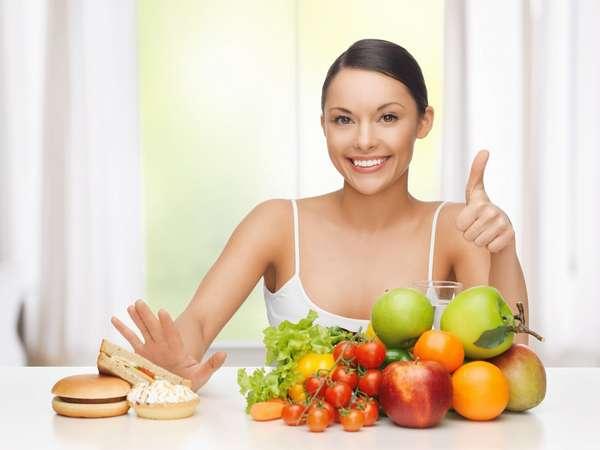 Вегетарианская диета для похудения Фото