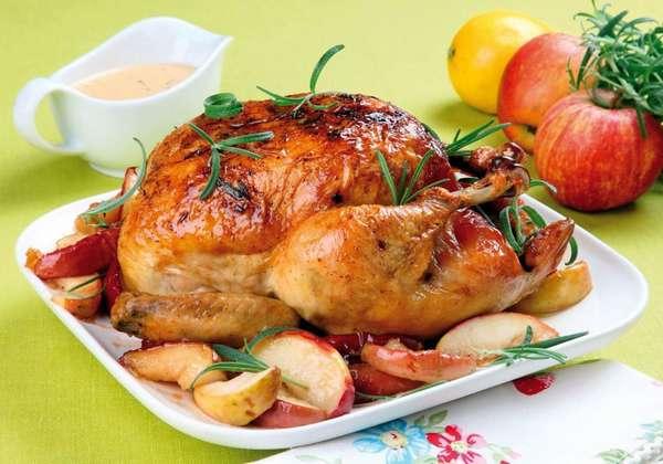 Блюда из курицы в духовке фото