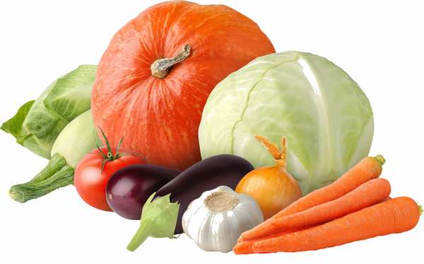 Овощи на ужин