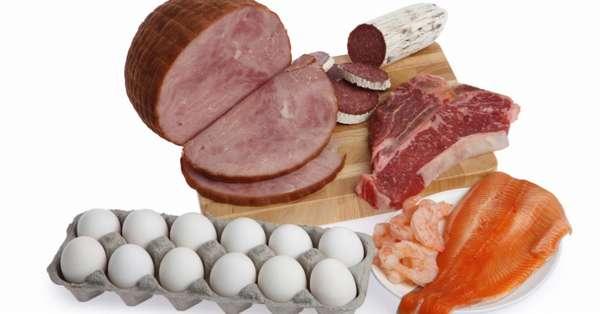 Меню №1 белковой диеты на неделю (7 дней)