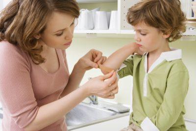 От ссадин и ушибов для детей