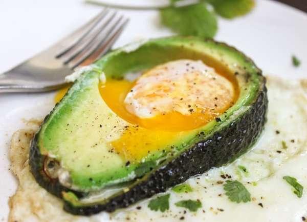 Варианты завтраков для похудения Авокадо