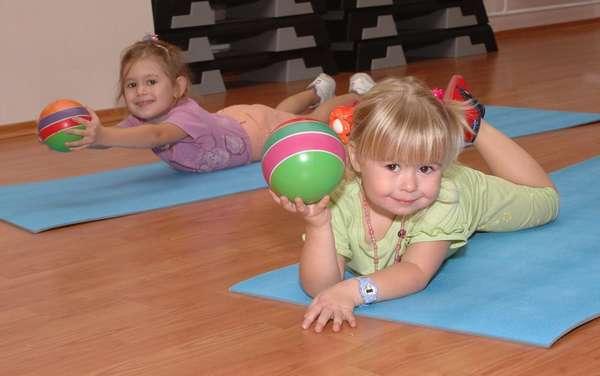 Фитнес для самых маленьких