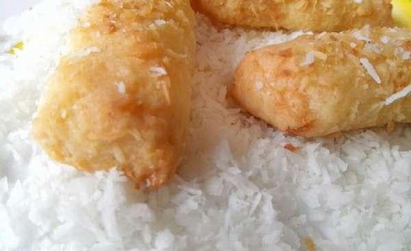 Фото кокосового печенья