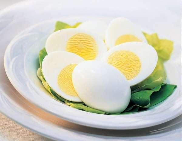 Яйца курицы вареные