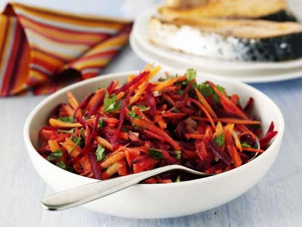 Капустный салат для похудения со свеклой