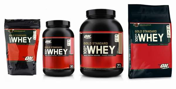 Состав 100% Whey Protein Gold Standard