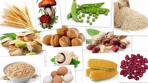 Допустимые продукты и рацион