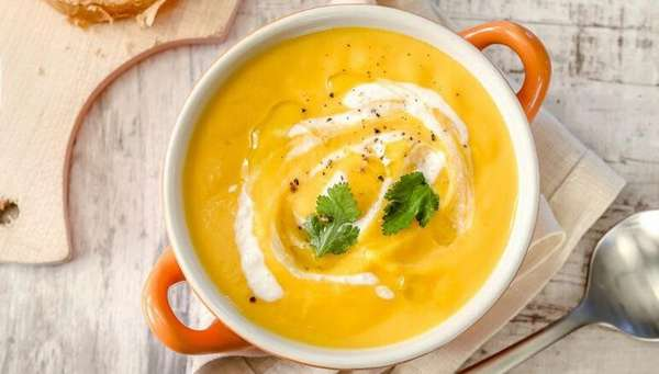 Суп пюре из тыквы для похудения