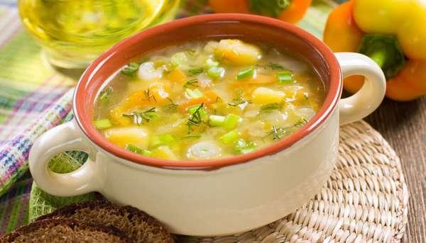 Постная диета для похудения Постный суп