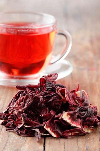 Чай каркаде и влияние его на давление