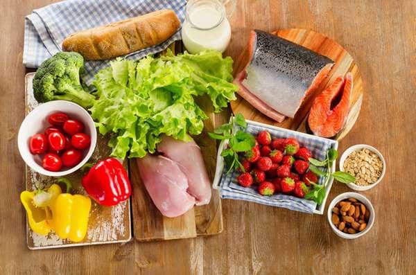 Соотношение белков, жиров и углеводов