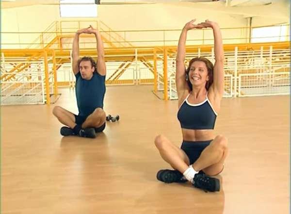 Тренировка с Валери Тюрпин для красоты и хорошего настроения