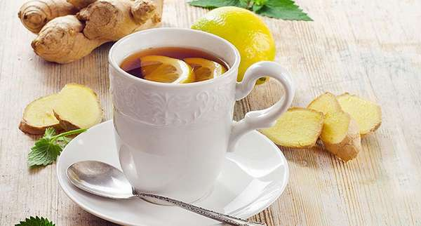 Как заварить чай с имбирем и лимоном