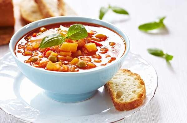 Рецепты первых блюд Суп Фото