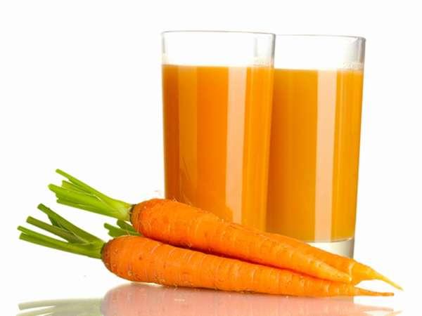 Заготовка на зиму Морковный напиток