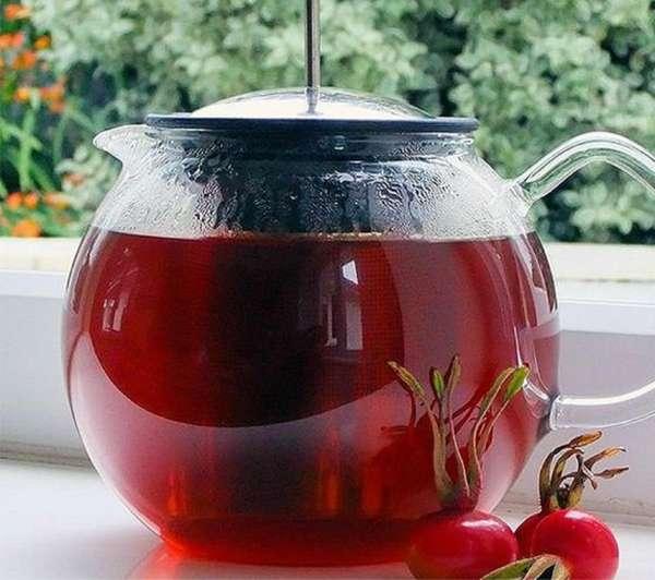 Стеклянный чайник для заваривания