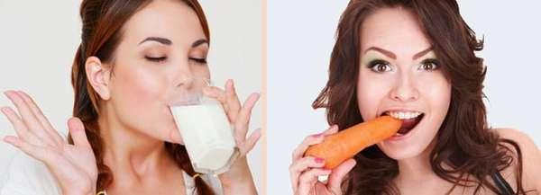 Разгрузочные кефирно-морковные дни Фото