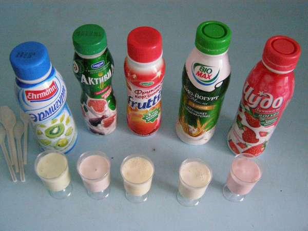 Питьевой йогурт
