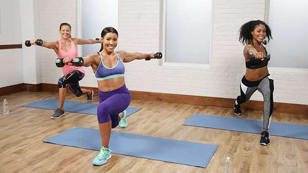 Джанет Дженкинс 500 калорий за 45 минут: эффективная фитнес-тренировка