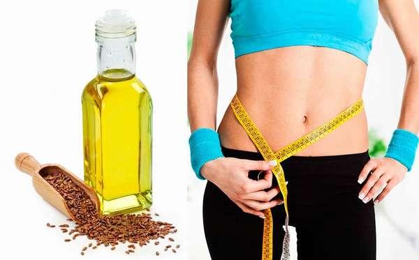 Польза льняного масла для похудения Фото