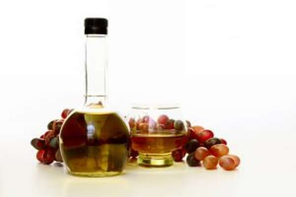 виноградным уксусом