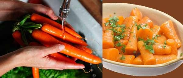 Диета на морковном салате