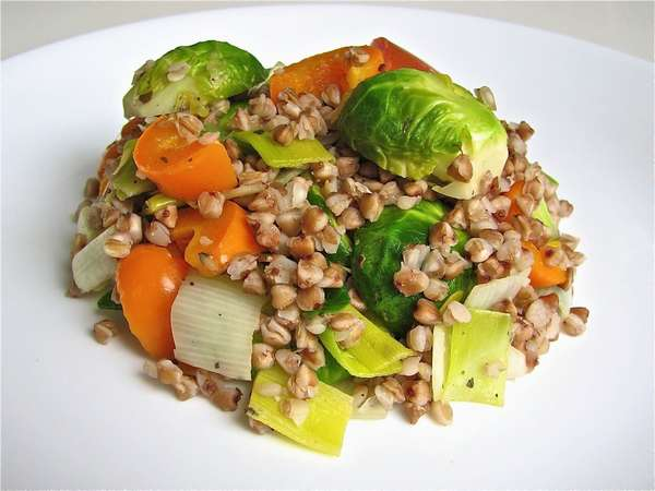 Фото: Гречка с овощами
