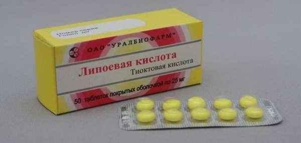 Взаимодействие липоевой кислоты с другими препаратами