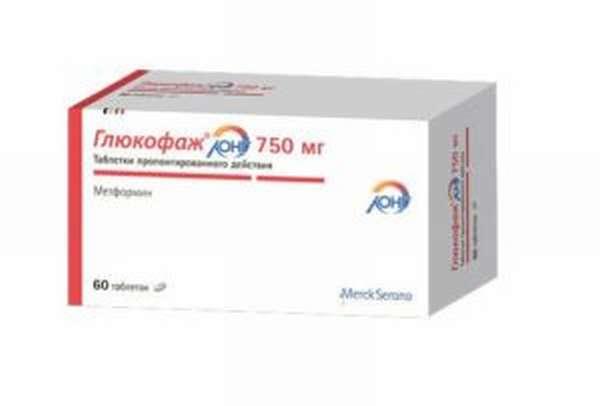 Глюкофаж лонг 750