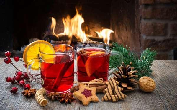 Согреваемся зимой при помощи напитков