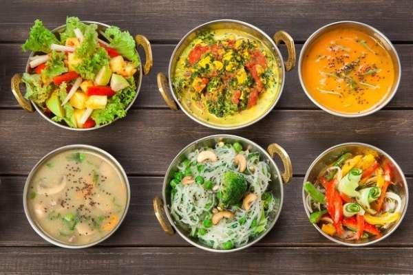 Вегетарианская диета меню на 2 недели