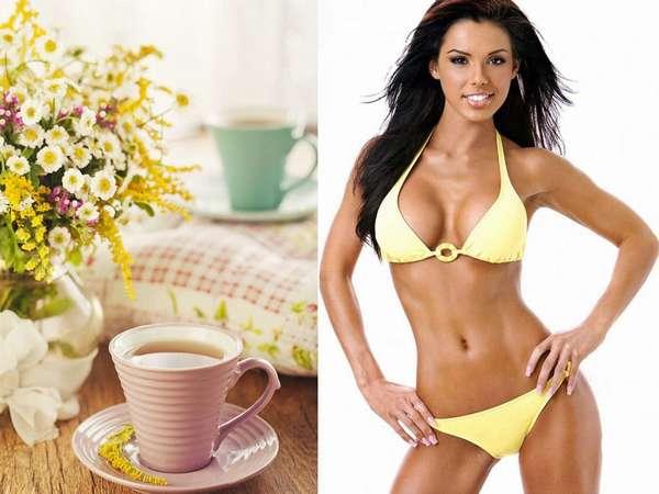 Как чай помогает похудению Фото