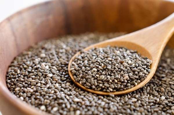 Полезные свойства семян чиа для женщин На фото семя чиа