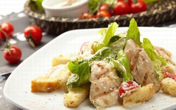 Салатик с курицей рецепт