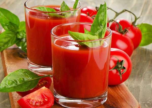 Полезный томатный напиток