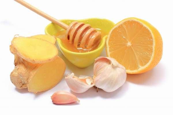 Лимон с чесноком для похудения